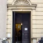 Eingang der Messiaskapelle / Hinterhaus